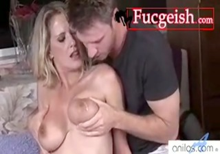 sexually excited blond mature housewife will suck