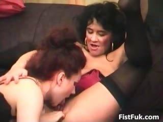 two older lesbian sluts pleasuring each part2