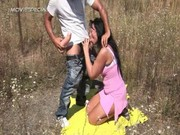 horny d like to fuck receives screwed hard outdoor