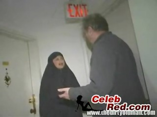 arab wife drilled by an old stud
