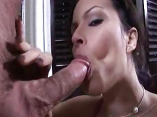 milf helps her son!