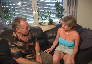 sexually excited old pair blowjob sex