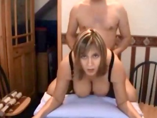 curvy milf acquires screwed on homemade