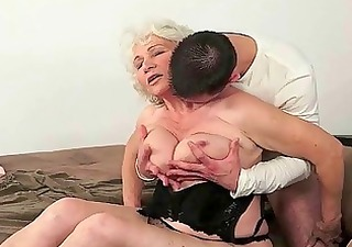 lusty grannies compilation