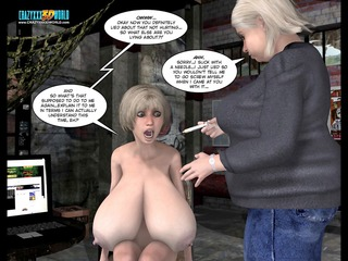 4d comic: malevolent intentions. clip 88