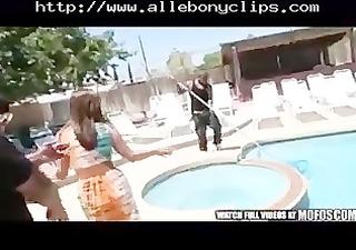 lethal injection black ebony cumshots ebon gulp