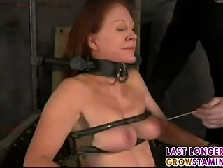 mature redhead forced part5