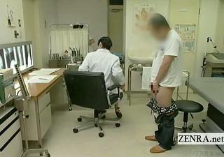 subtitled japanese doctor nurse tugjob with spunk