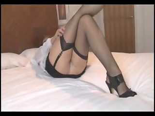 crissy - a hawt mature in nylons