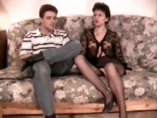shaggy aged analfucked in nylons