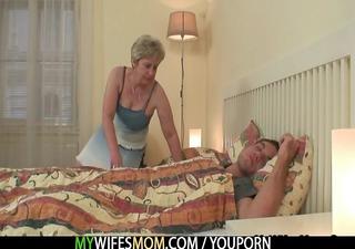 she bonks her son in law as he is sleeps