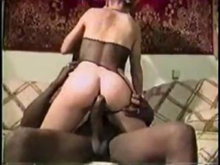blond milf vintage interracial fuck