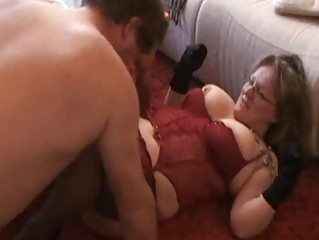 obese and busty dilettante wife sucks and fucks
