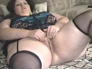 youthful overweight wife