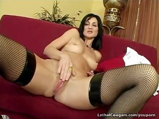 cougar cunt pounded and facial